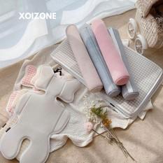 Miếng Lót Xe Đẩy/ Nệm Lót Xe Đẩy Dottodot Malolotte Mỏng Air Cool Liner & Gối Tựa Cổ Malolotte Hàn Quốc Cho Bé