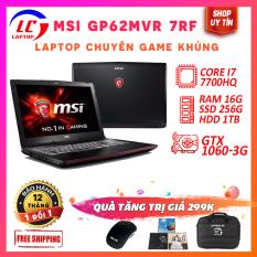 Laptop Chuyên Game, Laptop Giá Rẻ MSI GP62MVR 7RF, i7-7700HQ, VGA Nvidia GTX 1060-3G, Màn 15.6 FullHD IPS, LaptopLC298