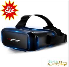 Kính thực tế ảo tốt, chơi game bằng kính thực tế ảo – Kính thực tế ảo VR KODENG K2 cao cấp, Xem phim 3D, Sản phẩm ưa thích của giới trẻ, GIÁ CỰC SỐC