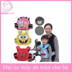 Đai an toàn cho bé đi xe máy có phản quang