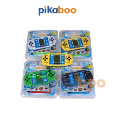 Máy chơi game cầm tay Pikaboo, nhiều loại trò chơi giải trí trẻ em, có âm thanh, bền đẹp, chất liệu an toàn cho trẻ