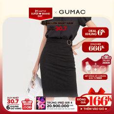 [3000 QUÀ CHỈ 30/7]- ĐỘC QUYỀN LAZADA- Chân váy nữ phối phụ kiện VB743 mẫu mới GUMAC