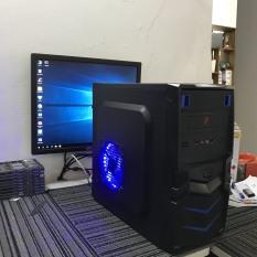 Máy tính để bàn Intel® core i5 2400, RAM 8GB,ổ cứng SSD 120GB, HDD 500GB. Tặng bàn phím chuột giả cơ.( máy tính để bàn giá rẻ, cấu hình cao, bảo hành dài, máy tính chơi game, máy tính để bàn chơi game, máy tính game)