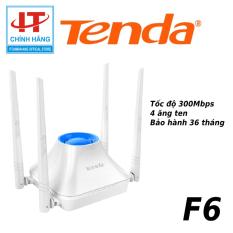 Bộ phát sóng Wifi Tenda 4 anten 300Mps Tenda F6