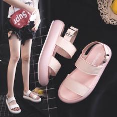 Sandal nữ quai ngang chất mềm êm chân cao cấp