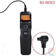 Điều khiển/ Remote Timer RS-80N3 cho máy ảnh Canon 5D/5DII/6D/7D/7DII/30D/40D…