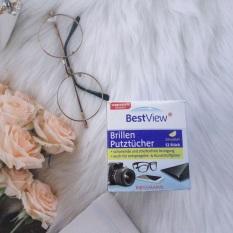 Giấy lau kính Best View 52 miếng, kính không trầy xước kính, không để lại bụi, lau sạch bụi bẩn, mồ hôi, nhờn, khô ngay