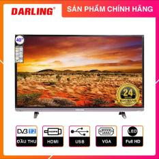 Tivi Led Darling 40 inch Full HD – Model 40HD957T2 (Đen) Tích hợp DVB-T2