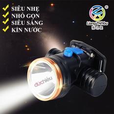 Đèn pin đội đầu siêu sáng có Ánh sáng vàng 5216, đèn đội đầu, đèn pin đeo đầu, đèn đeo trán, đèn soi bắt ếch, đèn đi đêm, chống nước tặng kèm sạc 19K – Đức Hiếu Shop