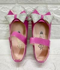 Giày Búp Bê Nơ Kim Tuyến Bé Gái Siêu Bền Đẹp – Giày Bé Gái Dễ Thương – Giày Bé Gái Đi Học
