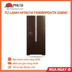 Tủ lạnh Hitachi FW690PGV7X (GBW)