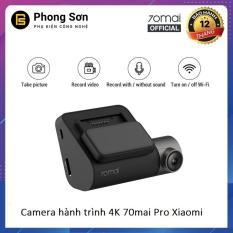 Camera Hành Trình Xiaomi 70mai Dash Camera Pro Không kèm GPS – Bản Nội Địa chuyển sang Tiếng Anh