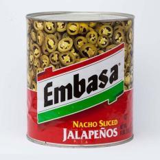 Ớt Lát Ngâm Nacho Sliced Jalapeno 2,77Kg