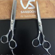Bộ kéo cắt tóc gia đình hiệu VS Sasson gồm kéo cắt và kéo tỉa