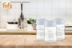 Bình trữ sữa 150ml (bộ 3 bình) Fatzbaby FB0120NX