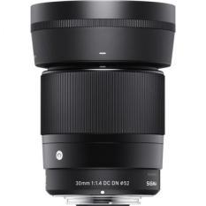 Ống kính Sigma 30mm F1.4 DC DN For Sony E-Mount (Hàng Shriro Việt Nam)