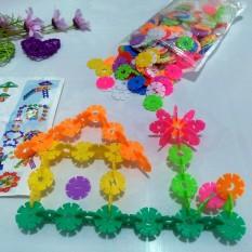 Lắp ráp hoa tuyết cho bé tăng tư duy sáng tạo cho bé