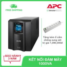 Bộ lưu điện thông minh APC by Schneider Electric Smart-UPS C 1000VA LCD 230V SMC1000IC