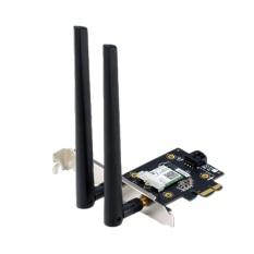 Card Mạng Wifi Asus PCE-AX3000 PCI-e a/b/g/n/ax3000 2.4GHz/5GHz 2402Mbps+574Mbps (Bulk) New 100% – Hàng Chính Hãng