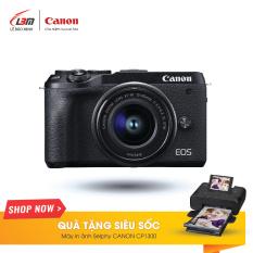 Máy Ảnh Canon EOS M6 MARK II (EF-M15-45MM F/3.5-6.3 IS STM) – Hàng Chính Hãng Lê Bảo Minh – Nhận Ngay Máy In Canon Selphy CP1300