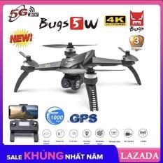 [ BẢN 4K ] Flycam MJX Bugs 5W PRO 4K WIFI FPV 5G – Động cơ không chổi than, 2 GPS, Camera 4K cao cấp