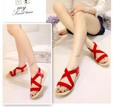 Sandal Nữ Quai Chéo Cao Cấp Phong Cách Hàn Quốc Siêu Đẹp – Hot Trend