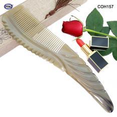 Lược Sừng to đẹp cực sang chảnh – COH157 (Size: XXL – 27cm) Cao cấp và sang trọng – Horn Comb of HAHANCO