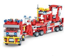 Đồ chơi lắp ráp các mô hình xe cứu hỏa 90-100 chi tiết