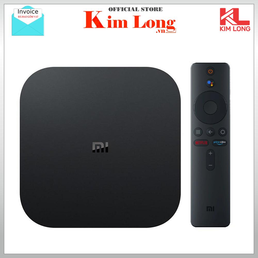 Tivi box Xiaomi Mibox S 4K Ultra HD bản quốc tế tiếng việt – Bảo hành 12 tháng Digiworld