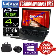 [MADE IN JAPAN] Laptop Nhật Bản Toshiba Dynabook R732 Chíp i5 M (i5-3320M) mạnh mẽ, Laptop Gaming cũ giá rẻ, Ổ SSD mới cho tốc độ xử lý nhanh, trọng lượng máy nhẹ chỉ 1,3kg tiện dụng, máy tính xách tay cũ, laptop gia re