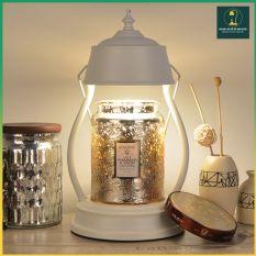 [Sẵn] Đèn Đốt Nến Thơm – House Warmer Candles GU10 35W có núm chỉnh độ sáng [ Đựng vừa nến Yankee size L]