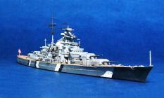 Mô hình tàu chiến -thiết giáp hạm Germany Bismarck (thiết giáp hạm Đức)