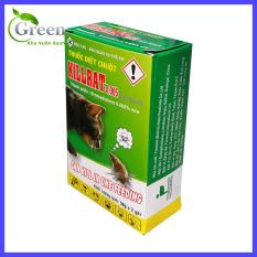 Thuốc Diệt Chuột KILLRAT (KILL RAT) Không Cần Trộn Thức Ăn – 1 hộp 2 gói x 50gam/gói