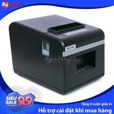 Máy in hóa đơn XPRINTER N160II KHỔ GIẤY 80mm (CỔNG GIAO TIẾP USB)- Hàng Nhập Khẩu + Tặng 5 cuộn giấy in nhiệt khổ 80mm