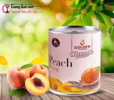 Đào Ngâm GOLDEN CLASSIC 820gram