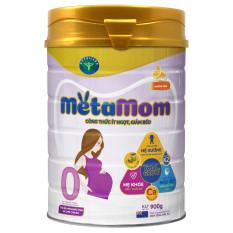 Sữa bột Nutricare MetaMom ít ngọt giảm béo cho bà mẹ mang thai & cho con bú – hương cam (900g)