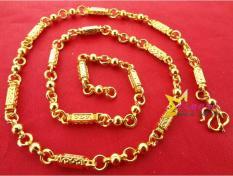 Dây Chuyền Vòng Cổ Nam Ống Trúc Mạ Vàng 24k Sang Chảnh Đẳng Cấp khẳng Định