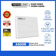 TOTOLINK – A830R – Router Wi-Fi băng tần kép AC1200