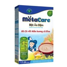 Bột ăn dặm Metacare – Gà cà rốt nấm hương & Olive (200g)