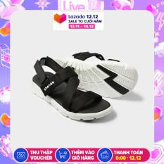 Giày nữ sandals SHONDO F6 Sport – F6S003 (Đen trắng)