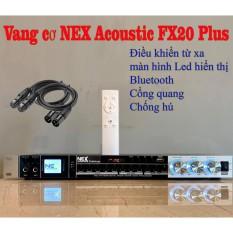 Vang cơ chính hãng NEX FX20PLUS có blutooth có điều khiển new 2020