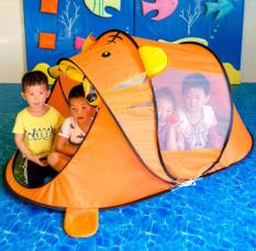 Lều cho bé, lều tự bung chơi nhà bóng, đi cắm trại, công viên…gấp gọn kèm túi đựng