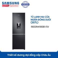 Tủ lạnh hai cửa ngăn đông dưới Samsung RB30N4180B1/SV 307L (Đen) – Hãng phân phối chính thức
