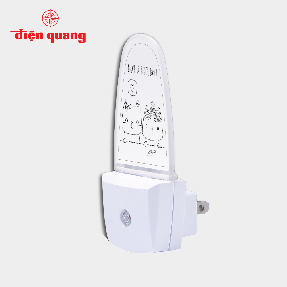 Đèn ngủ cảm biến LED Điện Quang ĐQ LNL10 DL (Cảm biến quang, ánh sáng trắng)