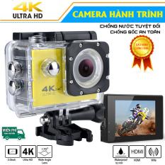 [Hàng Xịn] Camera Hành Trình, Camera Sport Chuẩn 4K Ultra HD DV Chống Nước, Chống Rung, Kết Nối Wifi. Cam kết đúng mô tả!