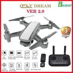 [ COMBO 2 PIN] Flycam C-Fly Dream Ver 2.0 GPS, Camera 1080P , gimbal chống rung 2 trục, bảo hành 3 tháng, thiết kế giống dji spark
