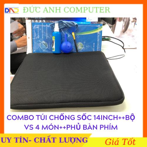 Combo Túi Chống Sốc ++ Bộ Vệ Sinh Laptop KINGMASTER 4 Món ++Phủ Bàn Phím — Bảo Vệ Toàn Diện Cho Laptop Của Bạn