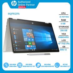 Laptop HP Pavilion x360 14-dh1137TU 8QP82PA i3-10110U | 4GB | 256GB | Intel UHD Graphics | 14″ FHD Touch | Win 10