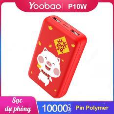 Pin Sạc dự phòng Yoobao mini 10000mAh P10W – Hãng phân phối chính thức