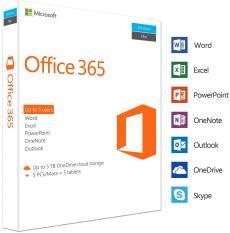 Bộ ứng dụng MS Office 365 Pro Plus cài được 5 thiết bị